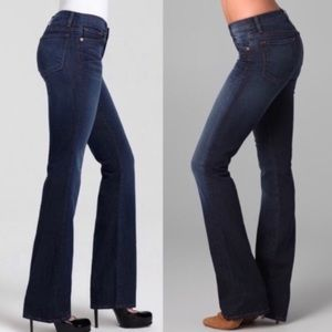 J Brand Bailey Boot Cut Jeans In Pure Size 26